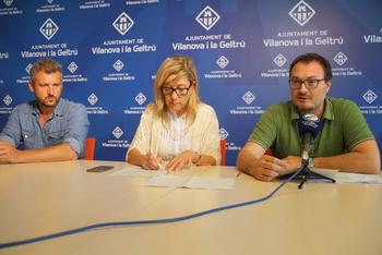 Joan Giribet, Neus Lloveras i Juan Luís Ruiz