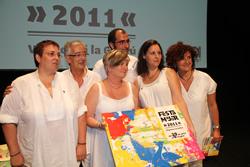 La presentació de Festa Major de Vilanova i la Geltrú es va fer al Teatre Principal