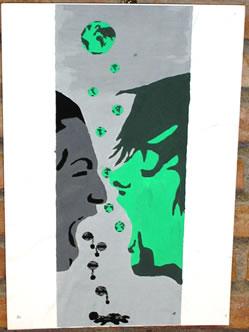 Obra guanyadora de l'Artiterra 2008, exposada al CRIA