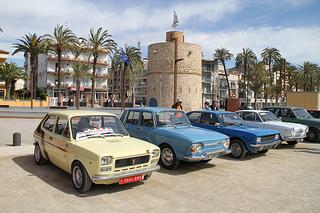 I Trobada de Cotxes Clàssics a Vilanova i la Geltrú