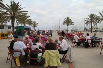Sardinada-Ball a la Plaça del Port