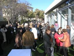 Celebració del brindis de Nadal al nou centre cívic