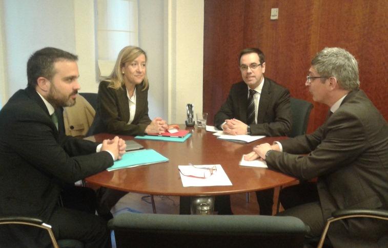 Lloveras i Gerard Llobet han estat avui a la Secretaria d'Habitatge