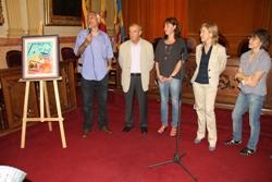 Moment de la presentació del Memorial Xavier Garcia d'enguany