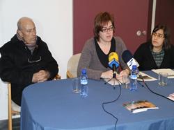 Brull Carreras, Isabel Pla, i Patricia Serrano, aquest matí