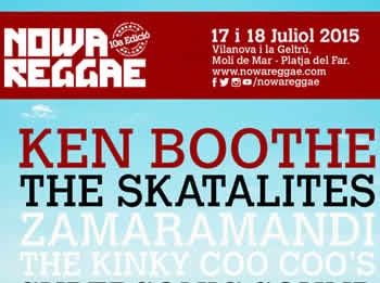 Cartell del festival Nowa Reggae 2015