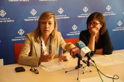 L'Alcaldessa ha explicat el funcionament de l'Assemblea Municipal Oberta als mitjans de comunicació