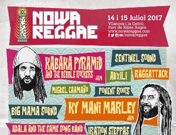 Cartell Nowa Reggae 2017