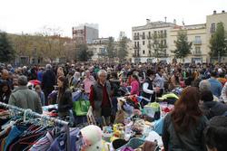 La plaça de les Casernes s'omple de taules i públic en cada edició