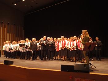 El concert es va fer a l'Auditori Eduard Toldrà