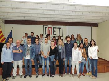 Imatge de grup de les empreses i treballadors del projecte TIMOL