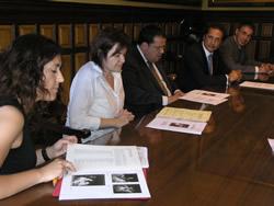 El conveni s'ha signat aquest matí a l'Ajuntament de VNG
