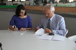 L'acord pemetrà a ambdós organismes establir noves vies de col·laboració