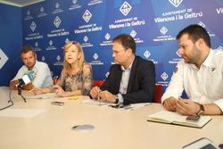 Joan Giribet, Neus Lloveras, Miquel Àngel Gargallo i Gerard Figueras
