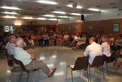 Més de vuitanta persones van participar en la trobada d'ahir al Pòsit
