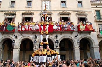 Els Bordegassos a la plaça de la Vila
