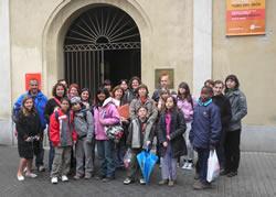 El grup vilanoví al Fòrum d'Escoles Verdes