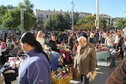 La plaça de les Casernes va fregar la saturació de visitants en algun moment