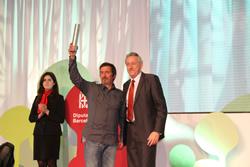 Lliurament del premi Palestra a l'ADF Puig de l'Àliga