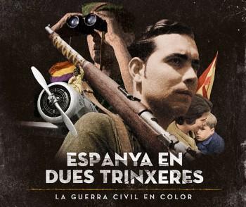 El documental mostra per primera vegada la Guerra Civil en color