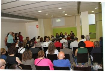 La jornada va tornar a omplir la sala d'actes del centre cívic La Geltrú