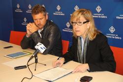 Neus Lloveras i Joan Giribet han parlat sobre millores en l'enllumenat públic i estalvi energètic