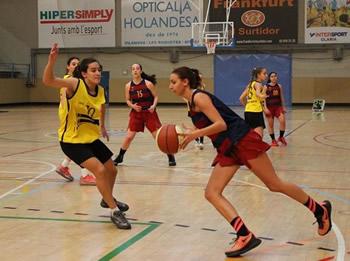 Final femenina Barça CBS - Bàsket Almeda
