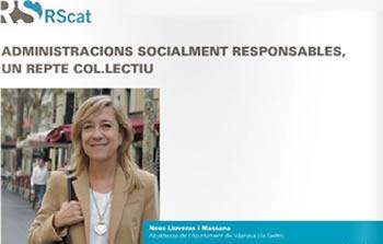 'Administracions socialment responsables, un repte col·lectiu', títol de l'article al monogràfic RScat