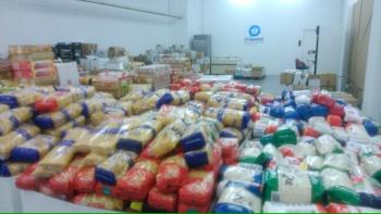 El Recapte ha omplert el magatzem de l'Economat de VNG