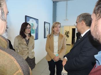 Neus Lloveras ha rebut la delegació del Govern d'Egipte i els ha acompanyat en la visita que han fet a Nèapolis