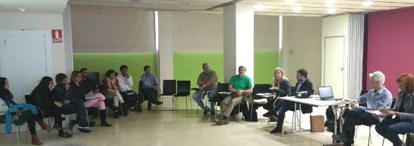 La trobada va tenir lloc al Centre Cívic la Geltrú