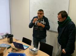 Balanç centres cívics Arduino