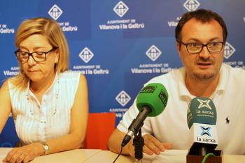 Neus Lloveras i Juan Luís Ruiz