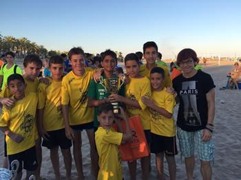 Campions categoria base: Campus Futbol Platja