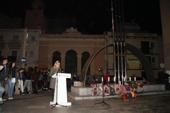 La plaça de la Peixateria va acollir la commemoració