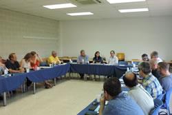La reunió s'ha celebrat a la UPC de Vilanova i la Geltrú