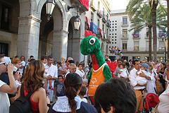El drac Nuc diumenge a la Festa Major