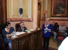 La representant de Compex va explicar al Ple que es tracta de l'entitat amb més socis de la ciutat