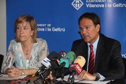 L'alcaldesa i el regidor d'Hisenda han explicat la situació econòmica municipal