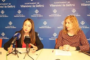 Gisela Vargas i Blanca Deusdad l'han presentat en roda de premsa