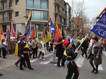 Aquests dies hi haurà afectacions de trànsit pels actes de Carnaval
