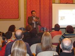 Lluís Pastor, al Consell Ciutadà de la Convivència