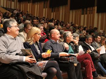 L'acte central de la commemoració es va fer a l'Auditori Eduard Toldrà