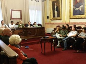 El Consell Municipal de Veïns i Veïnes, al saló de Plens
