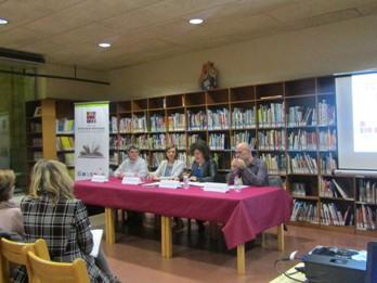 L'acte de presentació es va fer a la biblioteca Joan Oliva