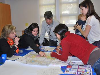 Els grups de treball van aportar moltes visions de com ha de ser la mobiltat a la ciutat