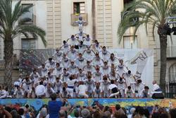 La millor actuació dels Falcons es va fer a l'entarimat de la plaça de la Vila