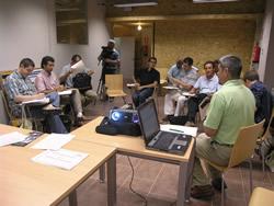 La trobada s'ha fet al CRIA (centre de recursos i informació ambiental)