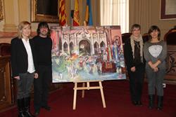 Neus Lloveras, Lluís Amaré, Marijó Riba i Glòria Garcia