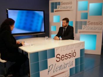 Laura Marin entrevista Gerard Figueras al Sessió Plenària